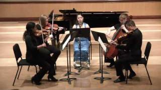 Laura Lascoe - Brahms Clarinet Quintet in B minor, Opus 115