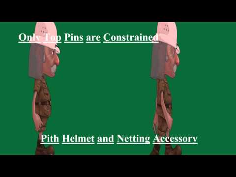 Pith Helmet and Mosquito Net Combination pack