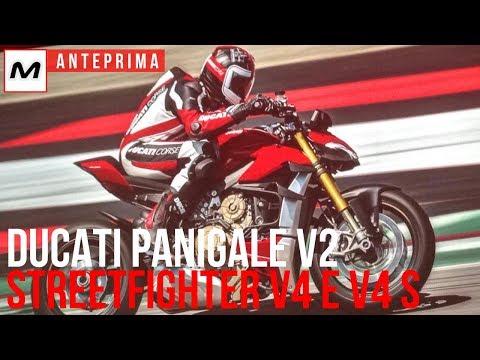 Novità Ducati 2020 | Panigale V2, Streetfighter V4 e Streetfighter V4 S