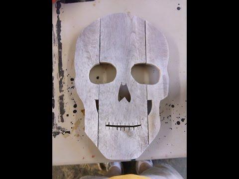 Make a Skull Head for Halloween Decoration