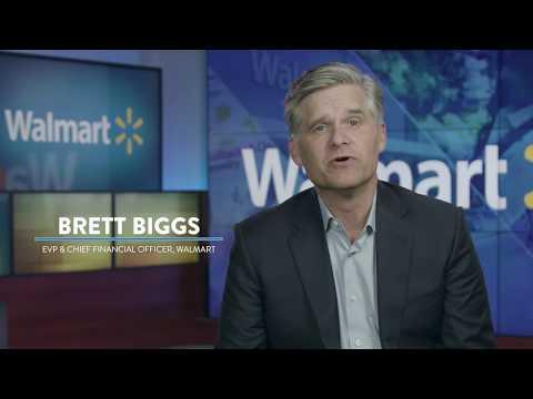 Walmart CFO Brett Biggs Highlights Annual Report Financials