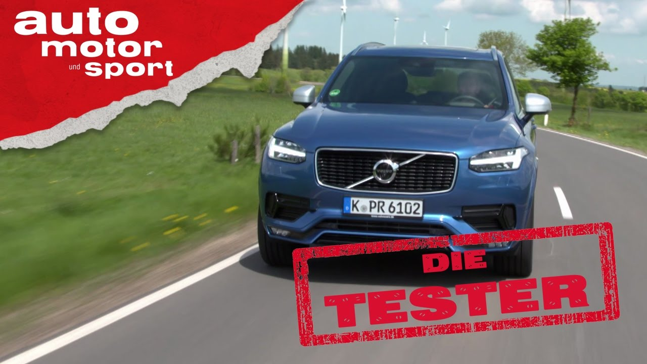 Volvo XC90 D5: Blaues Wunder? - Die Tester | auto motor und sport