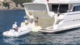 Ferretti Yachts 960 Beach platform
