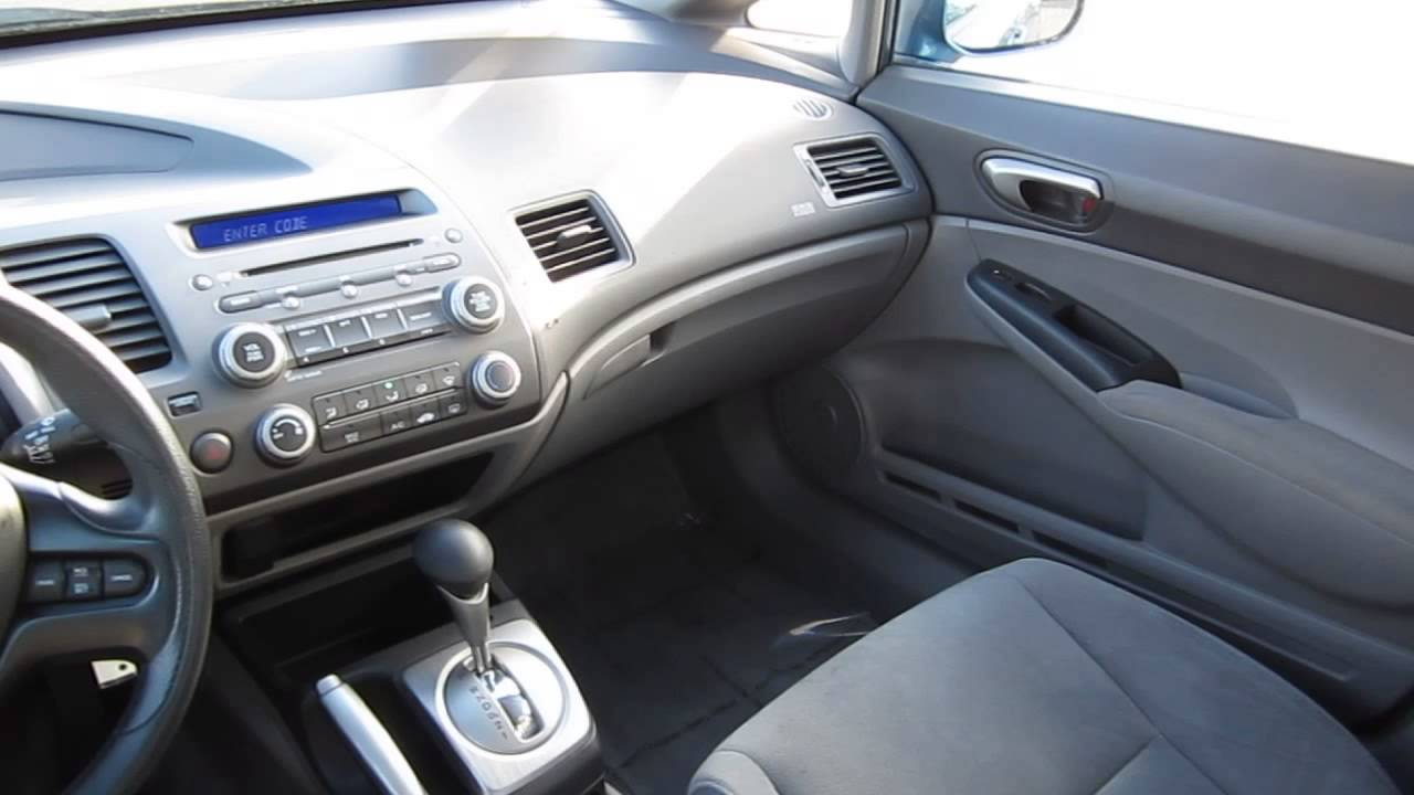 Perfect 2008 Honda Civic STOCK# 6781A   Interior