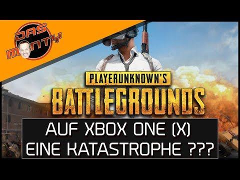 PLAYERUNKNOWN'S BATTLEGROUNDS auf Xbox One X | PUBG technisch eine Katastrophe ? | DasMonty Deutsch