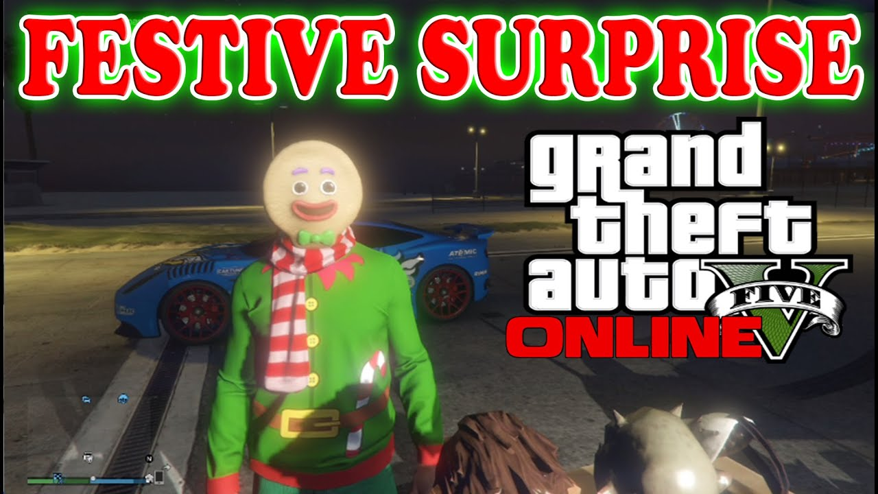 All Gta Christmas Masks.Gta 5 Festive Suprise Dlc New Masks All Gta 5 Christmas Masks 2014