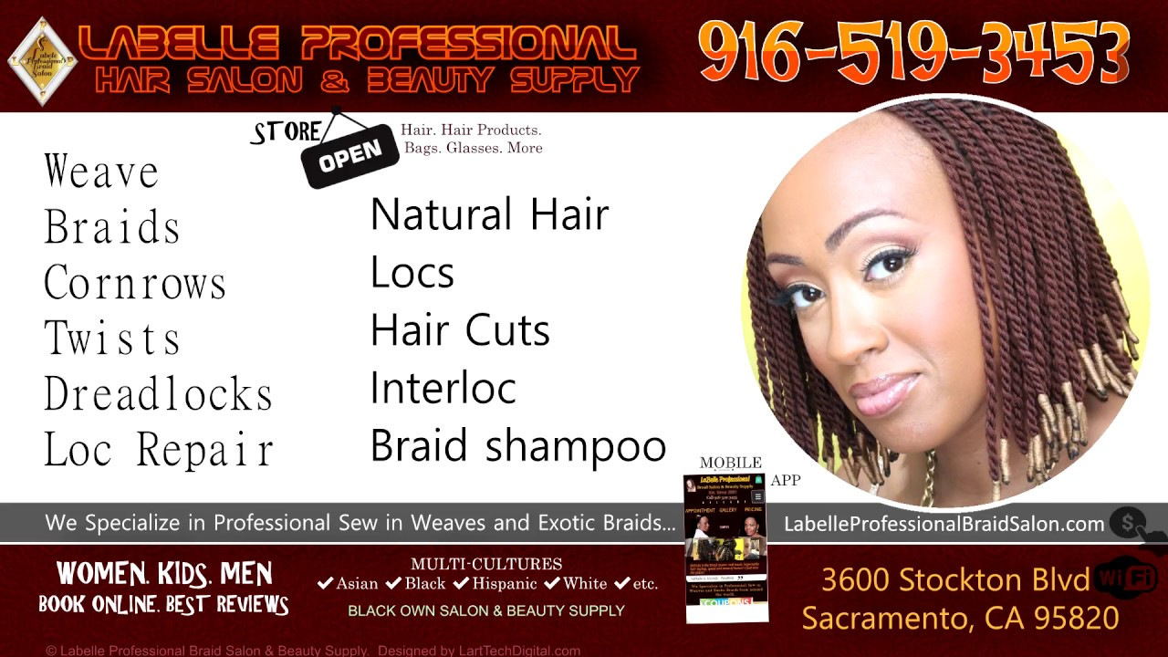 Hair Braiding Weave Extension Labelle Professional Salon Beauty Supply