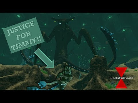 **SPOILER** Subnautica Primary Containment Showcase- Justice For Timmy!