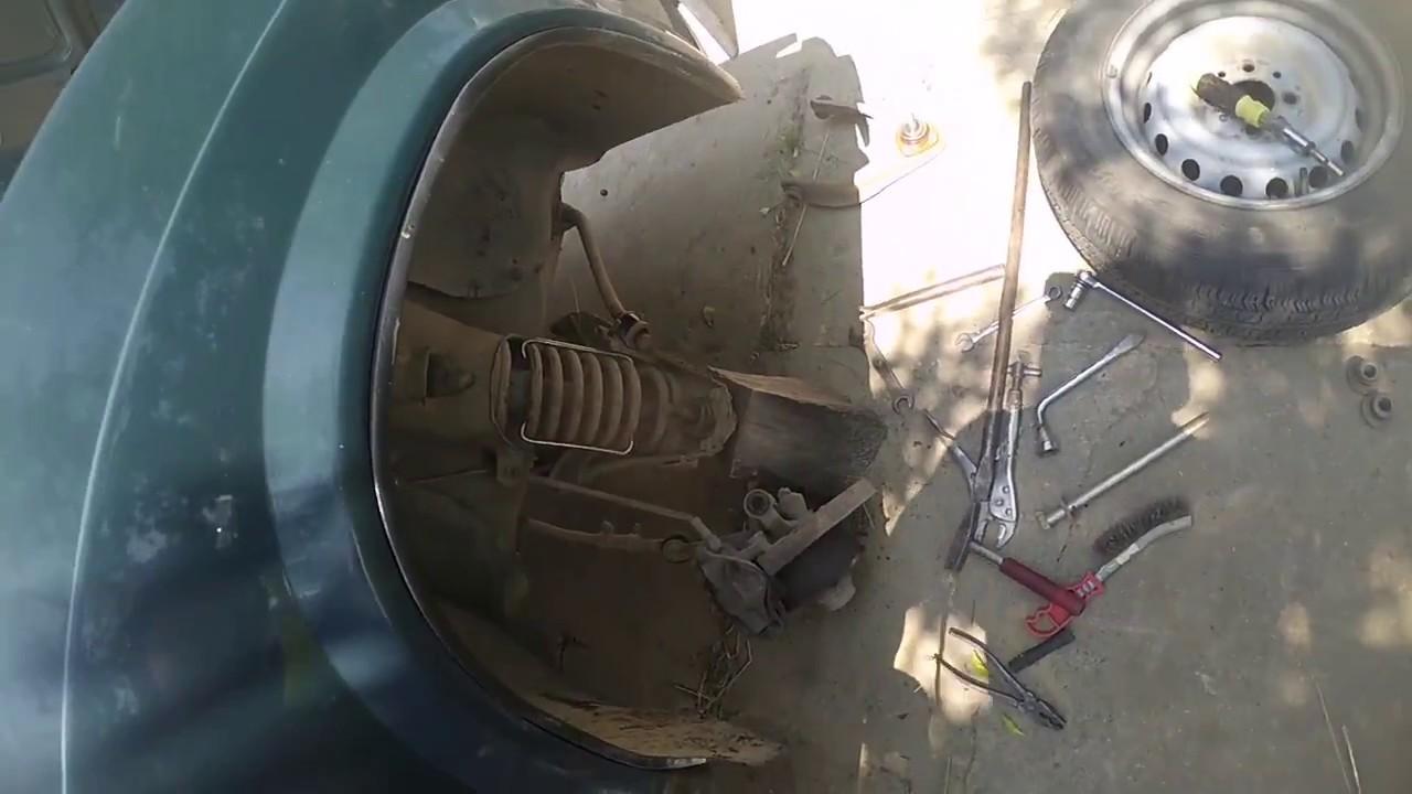 ВАЗ 2101-2107 комплект полиуретановых запчастей на ходовую - YouTube