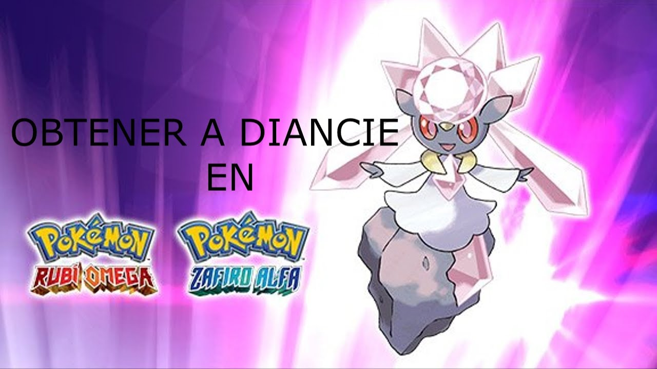 how to get diancie in oras