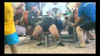 Viktor Naydenov 405 kg WORLD IPA bench press record