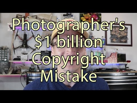 Photographer's $1 Billion Copyright Mistake