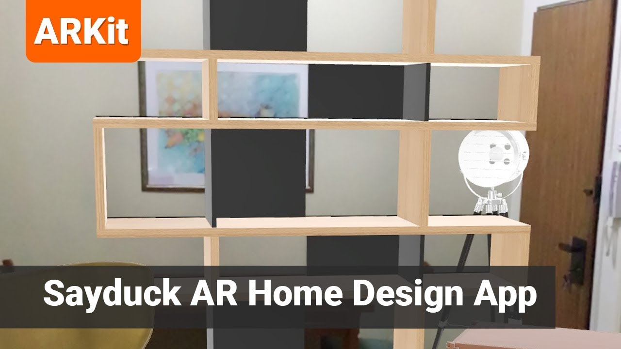 Sayduck iOS App - Home Design using Augmented Reality (AR) - YouTube