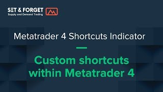 Metatrader 4 Rectangle Shortcuts indicator , great help for supply and demand