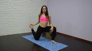 Йога для начинающих | Продольный шпагат