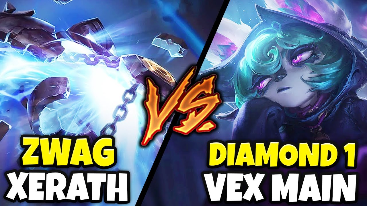 Download ZWAG EMBARRASSES DIAMOND 1 VEX MAIN WITH XERATH! (HE HAD NO CHANCE) - League of Legends