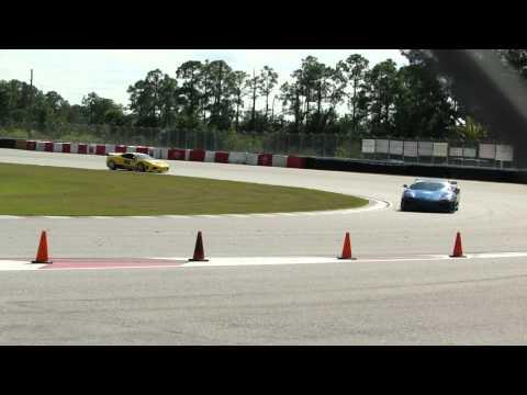 Ferrari Challenge class at Palm Beach International raceway