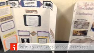 2015-16 - 6th Grade Science Fair Projects