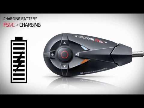 Interphone F5MC Functions Video Tutorial on www.HondaBikes.gr