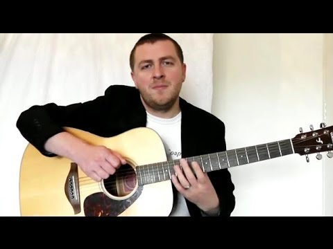 Guitar Lesson - Easy Classical Guitar Song - Great For Beginners