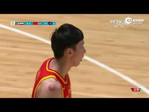 Zhou Qi POSTERIZES Hamed Haddadi (VIDEO) 2018 Asian Games