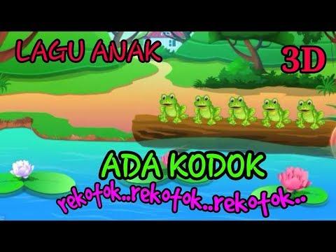 Lagu Anak - ADA KODOK Rekotok Rekotok HD. Mp4 Terbaru 2018
