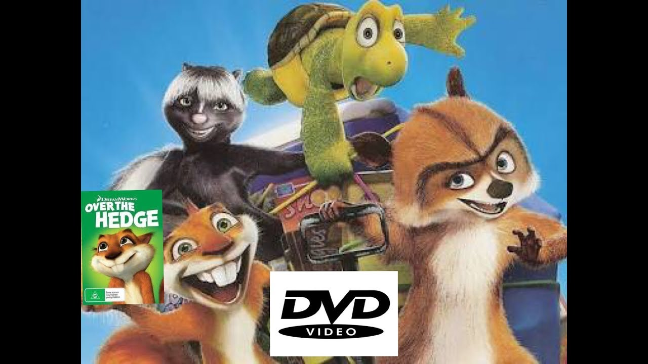 Previews To Over The Hedge Dvd 2006 2014 2018 Reprint Australia Youtube