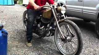 Harley Davidson Flathead 750 Custom Bike