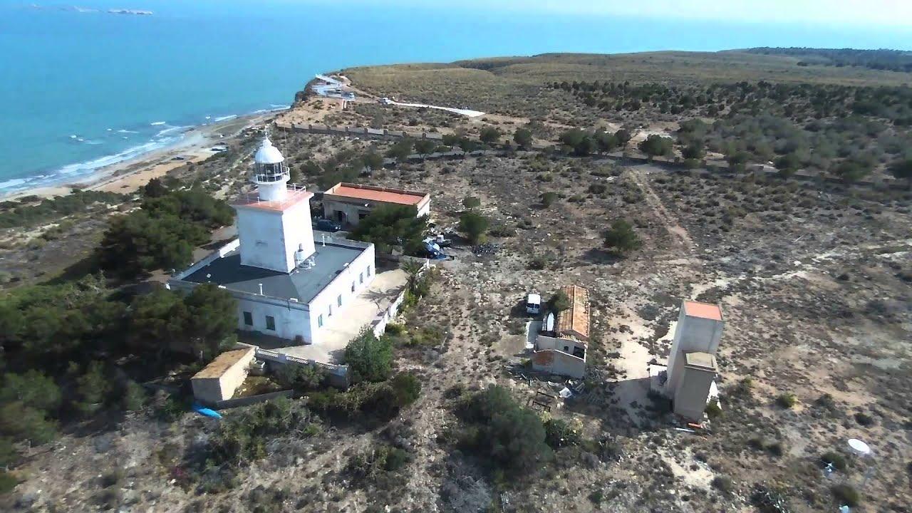 Parrot bebop drone faro de santa pola youtube - Cabo santa pola ...
