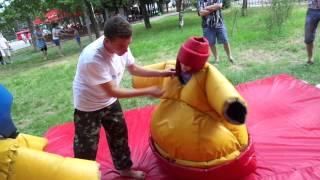 Добрая борьба сумо дети Часть 3