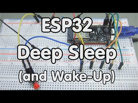 "#149 ESP32 Deep Sleep, RTC Memory, ""Secret"" LoLin Pins"