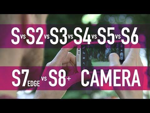 Samsung Galaxy S vs S2 vs S3 vs S4 vs S5 vs S6 vs S7 Edge vs S8+ / PART 3 - Camera Test