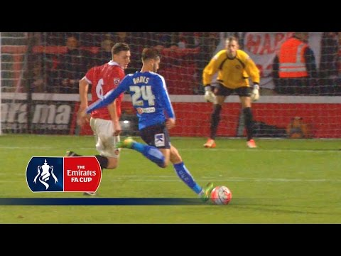 FC United of Manchester 1-4 Chesterfield - Emirates FA Cup 2015/16 (R1) | Goals & Highlights