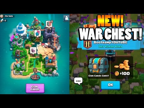 CLAN WAR & LEGENDARY CHEST OPENING! - Clash Royale