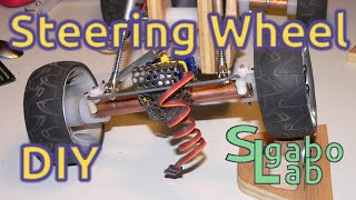 How to DIY Build the steering wheel for RC car ... Macchinina