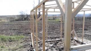 Теплица своими руками.(В данном видео вы увидите как за несколько дней своими руками можно построить небольшую теплицу., 2015-04-14T08:48:13.000Z)