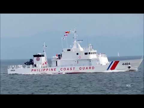 The Philippine Coast Guard receives new vessel BRP Sindangan MRRV 4407 from Japanese