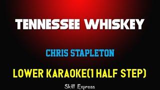 Tennessee Whiskey ( LOWER KEY KARAOKE ) - Chris Stapleton (1 half step) Video
