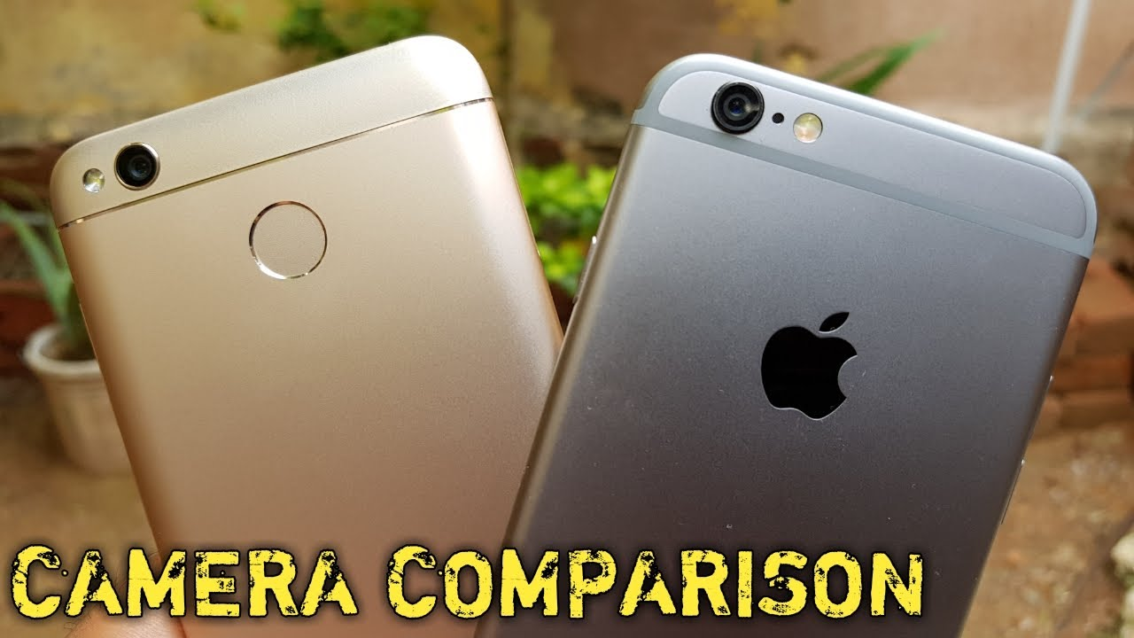 Xiaomi Redmi Note 4x Vs Iphone 6s