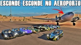 ESCONDE ESCONDE NO AEROPORTO A NOITE - FORZA HORIZON 3 - GAMEPLAY