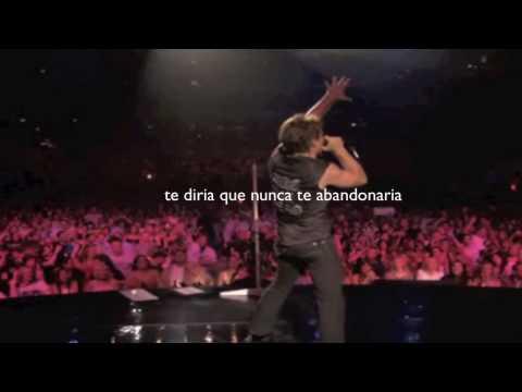 BON JOVI (IN THESE ARMS ) subtitulado en español