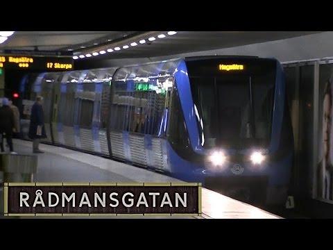 Rådmansgatan Tunnelbana Station Stockholm