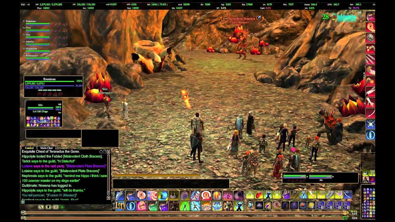 Everquest ii zavith loa the molten pools