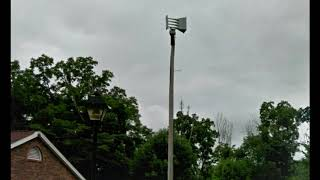 Austintown Township, OH Whelen Vortex Siren Test ~ 9/9/17 (Audio)