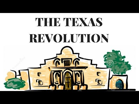 The Texas Revolution in 3 Minutes