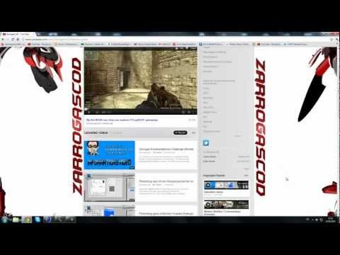 Cinema 4D + Photoshop Toturial: wie ich einen GFX Youtube Background erstellen kann (Part 2/2)