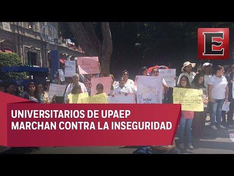 UPAEP marcha por feminicidio de Mara Castilla