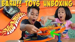 Owen Pengen UNBOXING Hotwheels - ToysReview Mainan Anak TheRempongsHD