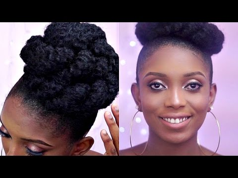 how-to-:-high-bun-with-marley-hair-on-a-short-natural-hair/3-unique-styles