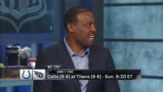 Woodson, Bruschi split on Colts Titans win or go home matchup   Dec 27, 2018